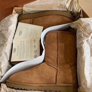Classic brown short UGG Australia boots